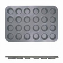 TigerChef Non-Stick Mini Size 24 Cup Muffin Pan