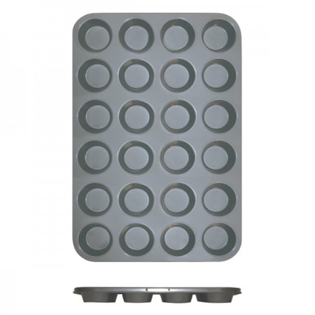 TigerChef Non-Stick Muffin Pan 24 Cup