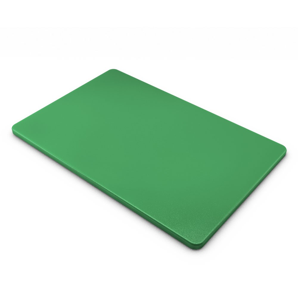 "TigerChef Polyethylene Color Cutting Board 12"" x 18"""