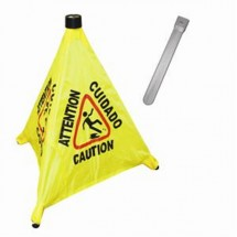 TigerChef Pop-Up Safety Cone 19-1/2""