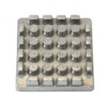 "TigerChef Pusher Block for French Fry Cutter 1/2"" Blade"