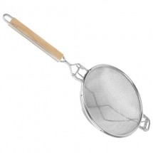 TigerChef Reinforced Double Fine Mesh Strainer 13-3/4""