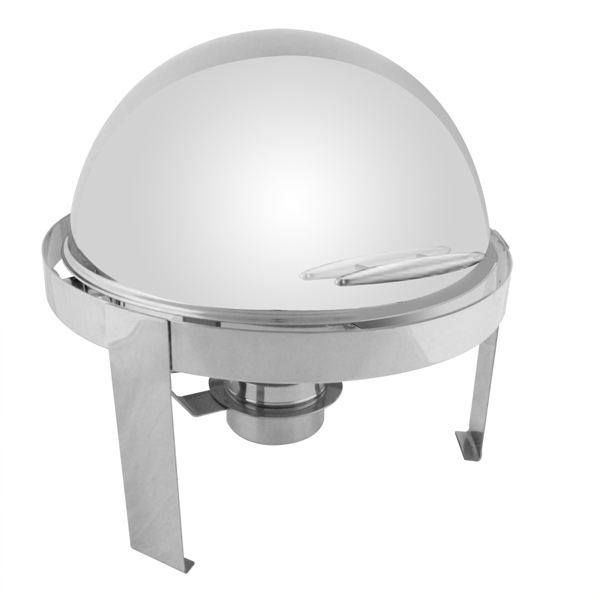 TigerChef Round Roll Top Chafer 6 Qt.