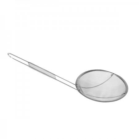 TigerChef Round Stainless Steel Skimmer 6-1/2""