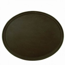 "TigerChef Slip-Resistant Oval Tray 22"" x 27"""