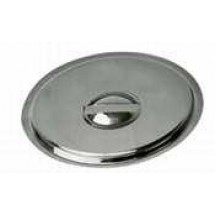 TigerChef Stainless Steel Bain-Marie Pot Cover 4-1/4 Qt.
