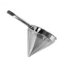 TigerChef Stainless Steel China Cap Coarse Mesh Strainer 10""