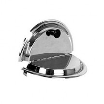 TigerChef Stainless Steel Inset Divided Cover 11 Qt.