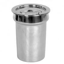 TigerChef Stainless Steel Inset Pan Cover 2-1/2 Qt.