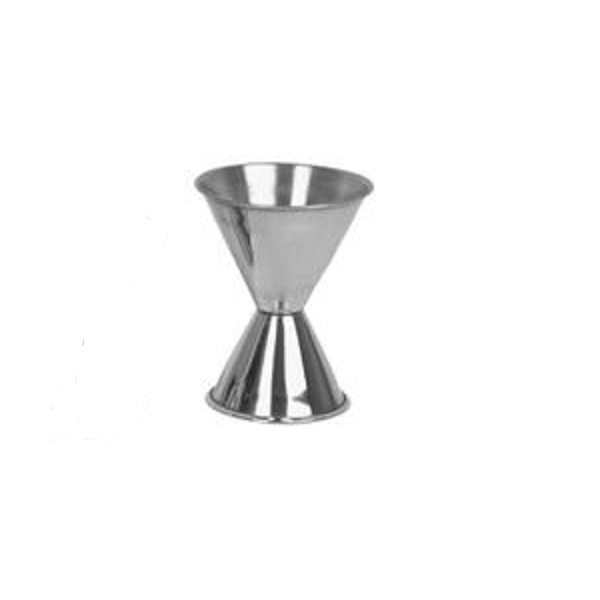 TigerChef Stainless Steel Jigger 1 oz. & 2 oz.