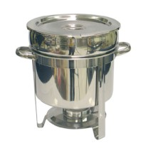 TigerChef Stainless Steel Marmite Chafer 11 Qt.
