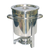 TigerChef Stainless Steel Marmite Chafer 7 Qt.