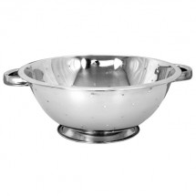 TigerChef Stainless Steel Colander with Base and Handles 3 Qt.