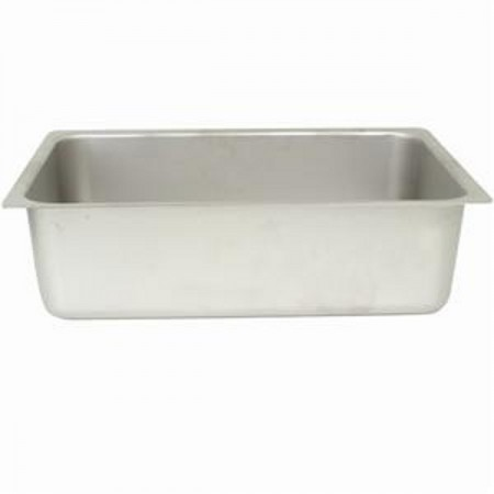 "TigerChef Stainless Steel Spillage Pan 21"" x 13"" x 6"""