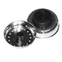 TigerChef Stainless Steel Strainer With Stopper 3""