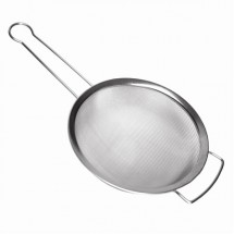 TigerChef Stainless Steel Strainer with Support Handle 6""