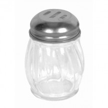 TigerChef Swirl Glass Slotted Cheese Shaker 6 oz.
