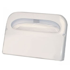 TigerChef White Half Fold Toilet Seat Cover Dispenser-