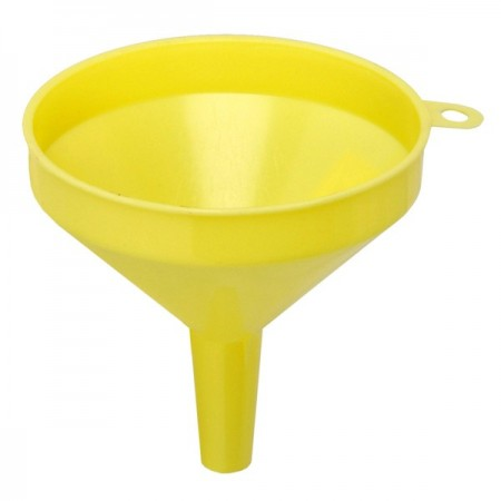TigerChef White Plastic Funnel 8 oz.
