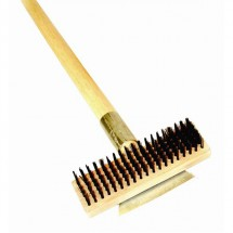 TigerChef Wire Brush and Scraper 27""