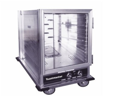 Toastmaster 9451-HP12CDN Economy Model Aluminum Half Size Mobile Insulated Heater and Proofer Cabinet