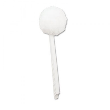 Toilet Bowl Mop, White