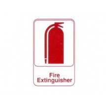 Traex 5618 Sign: Fire Extinguisher 6