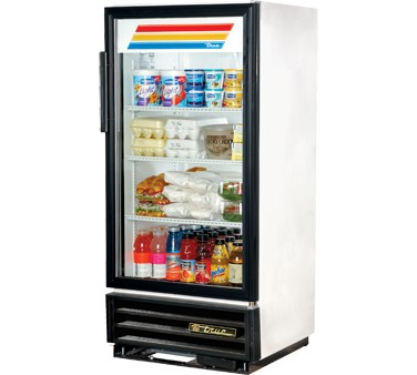 True GDM-10-LD Glass Door Refrigerated Merchandiser 10 Cu Ft