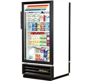 True GDM-10PT-LD Glass Door Pass-Thru Merchandiser 10 Cu Ft
