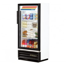 True GDM-10SSL-LD Slim Line Swing Glass Door Refrigerated Merchandiser 6.7 Cu Ft