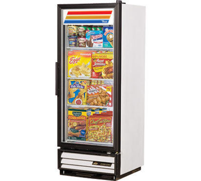 True GDM-12F 12 Cu Ft One-Section Glass Door Freezer Merchandiser