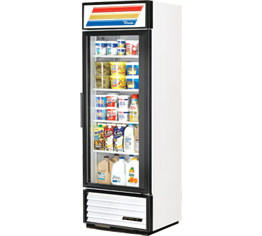 True GDM-19T-LD Glass Door Refrigerated Merchandiser 19 Cu Ft