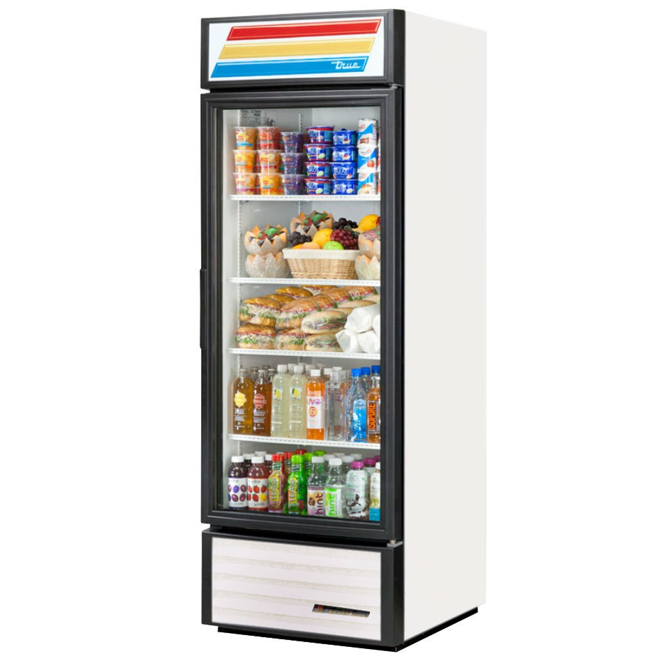 True GDM-23-LD Glass Door Refrigerated Merchandiser 23 Cu Ft