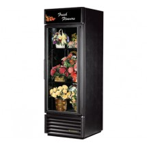 True GDM-23FC-LD One-Section Glass Door Floral Merchandiser 23 Cu Ft