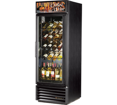 True GDM-23W-LD Glass Door Wine Merchandiser 23 Cu Ft