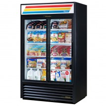 True GDM-41 41 Cu Ft 2-Section Glass Door Refrigerated Merchandiser