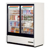True GDM-41SL-54 17 Cu Ft Two-Section Convenience Store Merchandiser