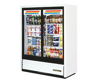 True GDM-41SL-60-LD Convenience Store Glass Sliding Door Merchandiser 19 Cu Ft
