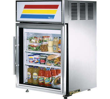 True GDM-5-S 5 Cu Ft Countertop Refrigerated Merchandiser
