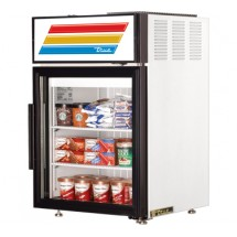 True GDM-5F 5 Cu Ft  Countertop Glass Door Freezer Merchandiser, One Section