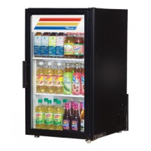 True GDM-6-LD Countertop Display Refrigerator with Swing Door - 6 Cu Ft