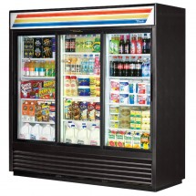 True GDM-69 69 Cu Ft 3-Section Glass Door Refrigerated Merchandiser