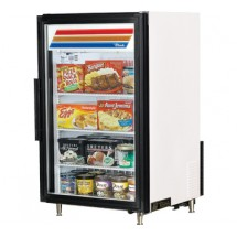 True GDM-7F-LD Countertop Swing Glass Door Freezer Merchandiser 7 Cu Ft