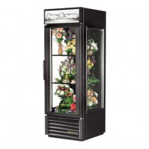 True GEM-23FC 23 Cu Ft  Glass End Floral Merchandiser