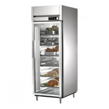 True STA1H-1G 31 Cu Ft Reach In One-Section Glass Door Heated Cabinet