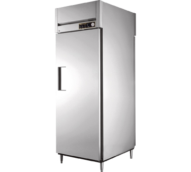 True STA1HPT-1S-1S 31 Cu Ft Pass-Thru Solid Door Heated Cabinet
