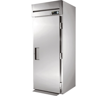 True STA1HRI89-1S 38 Cu Ft Roll In One-Section Solid Door Heated Cabinet