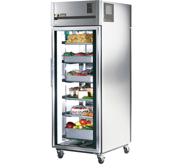 True STA1RPT-1G-1S 31 Cu Ft Pass-Thru One-Section Refrigerator