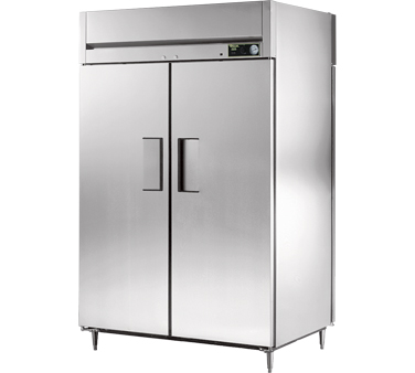 True STA2HPT-2S-2S 56 Cu Ft Pass-Thru Solid Door Heated Cabinet