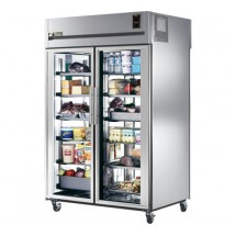 True STA2RPT-2G-2G 56 Cu Ft Pass-Thru Two-Section Refrigerator
